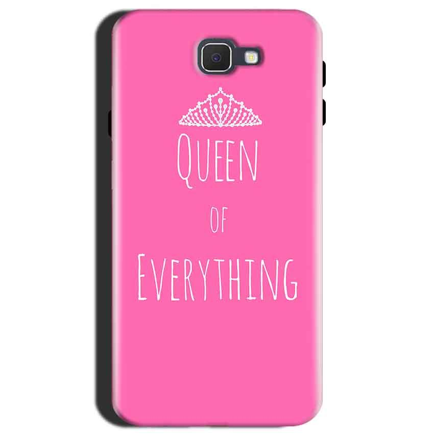 Samsung Galaxy J7 Max Mobile Covers Cases Queen Of Everything Pink White - Lowest Price - Paybydaddy.com