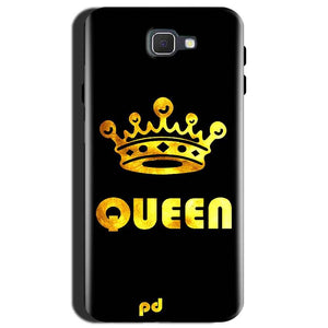 Samsung Galaxy J7 Max Mobile Covers Cases Queen With Crown in gold - Lowest Price - Paybydaddy.com