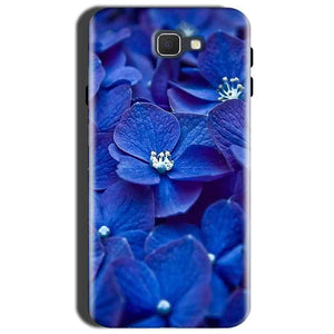 Samsung Galaxy J7 Nxt Mobile Covers Cases Blue flower - Lowest Price - Paybydaddy.com