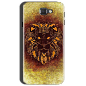 Samsung Galaxy J7 Nxt Mobile Covers Cases Lion face art - Lowest Price - Paybydaddy.com
