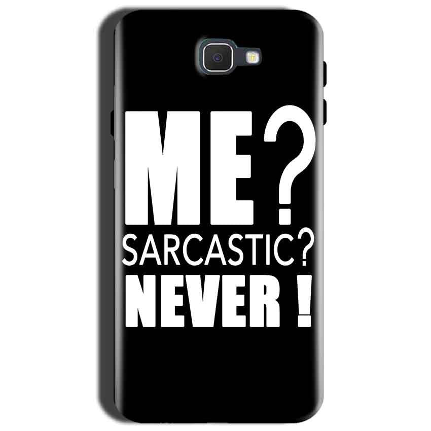 Samsung Galaxy J7 Nxt Mobile Covers Cases Me sarcastic - Lowest Price - Paybydaddy.com