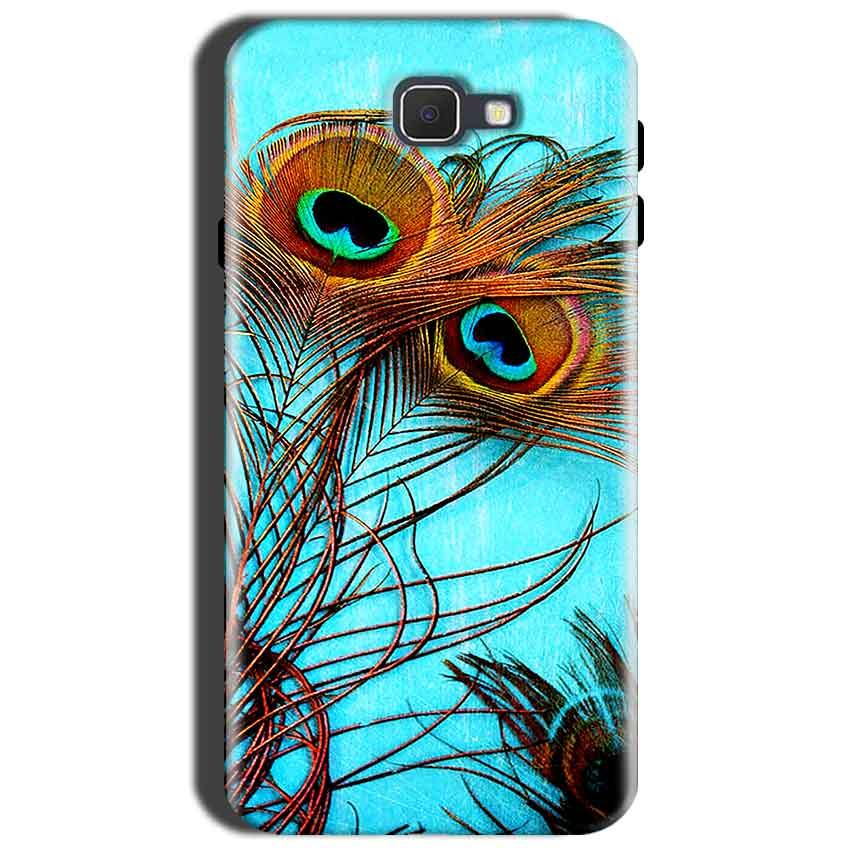Samsung Galaxy J7 Nxt Mobile Covers Cases Peacock blue wings - Lowest Price - Paybydaddy.com
