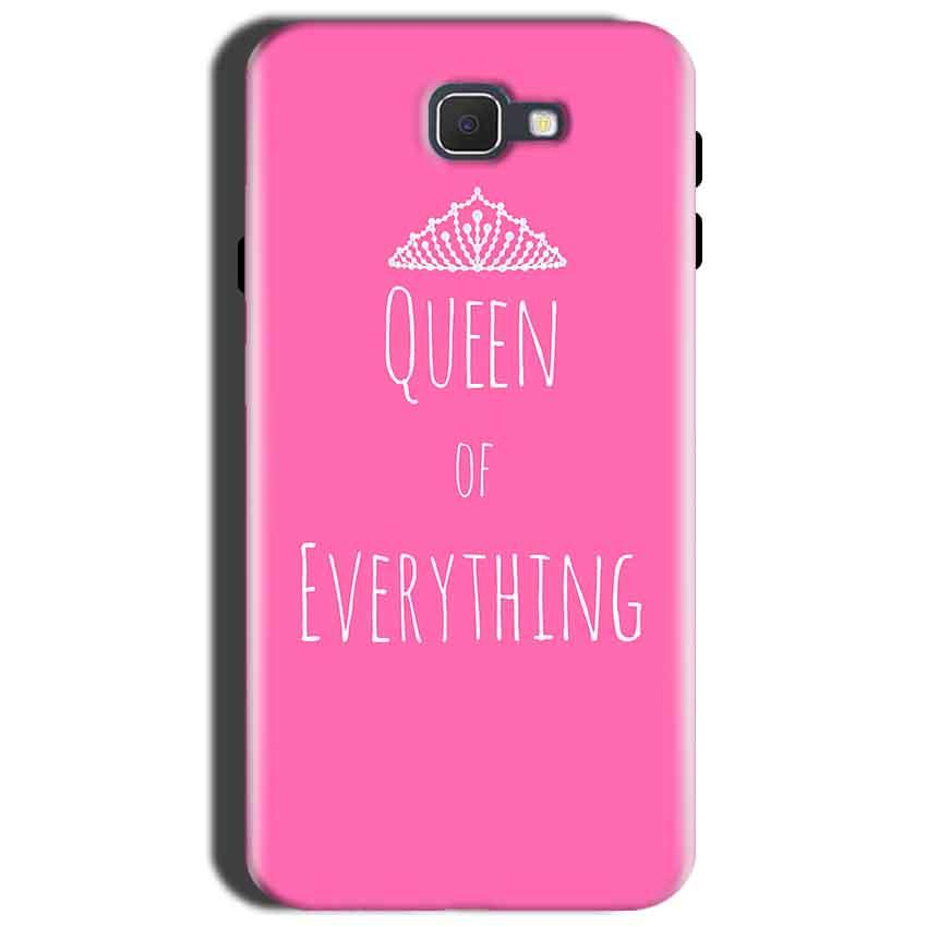 Samsung Galaxy J7 Nxt Mobile Covers Cases Queen Of Everything Pink White - Lowest Price - Paybydaddy.com