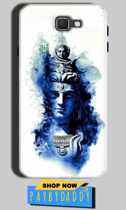Samsung Galaxy J7 Nxt Mobile Covers Cases Shiva Blue White - Lowest Price - Paybydaddy.com