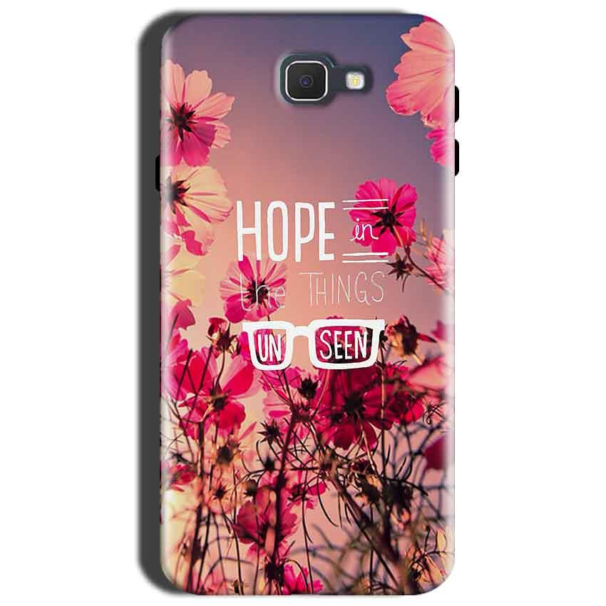 Samsung Galaxy J7 Prime 2 Mobile Covers Cases Hope in the Things Unseen- Lowest Price - Paybydaddy.com