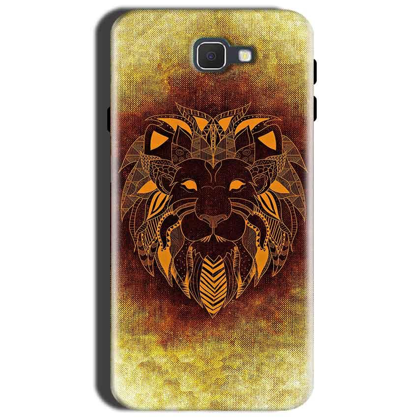 Samsung Galaxy J7 Prime 2 Mobile Covers Cases Lion face art - Lowest Price - Paybydaddy.com