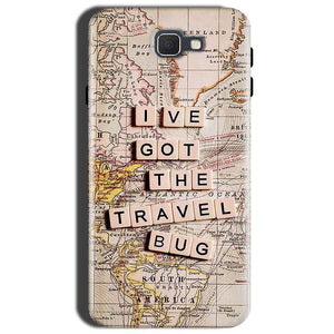 Samsung Galaxy J7 Prime 2 Mobile Covers Cases Live Travel Bug - Lowest Price - Paybydaddy.com