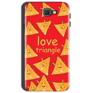 Samsung Galaxy J7 Prime 2 Mobile Covers Cases Love Triangle
