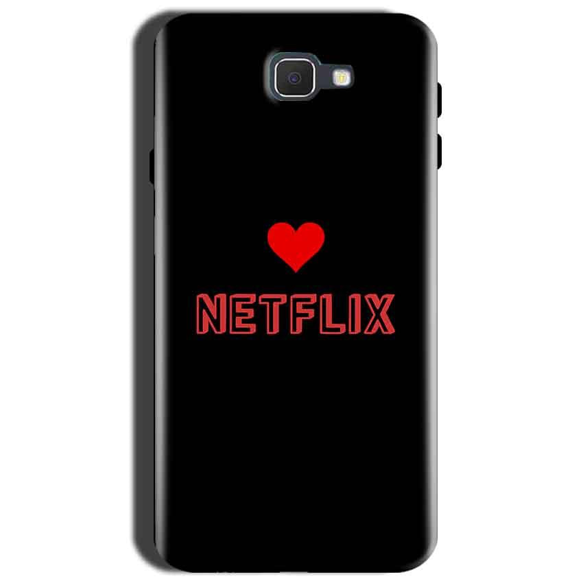 Samsung Galaxy J7 Prime 2 Mobile Covers Cases NETFLIX WITH HEART - Lowest Price - Paybydaddy.com