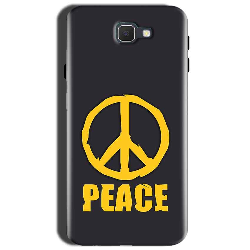 Samsung Galaxy J7 Prime 2 Mobile Covers Cases Peace Blue Yellow - Lowest Price - Paybydaddy.com