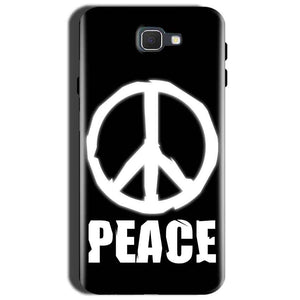 Samsung Galaxy J7 Prime 2 Mobile Covers Cases Peace Sign In White - Lowest Price - Paybydaddy.com