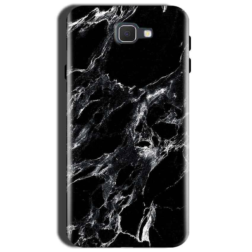 Samsung Galaxy J7 Prime 2 Mobile Covers Cases Pure Black Marble Texture - Lowest Price - Paybydaddy.com