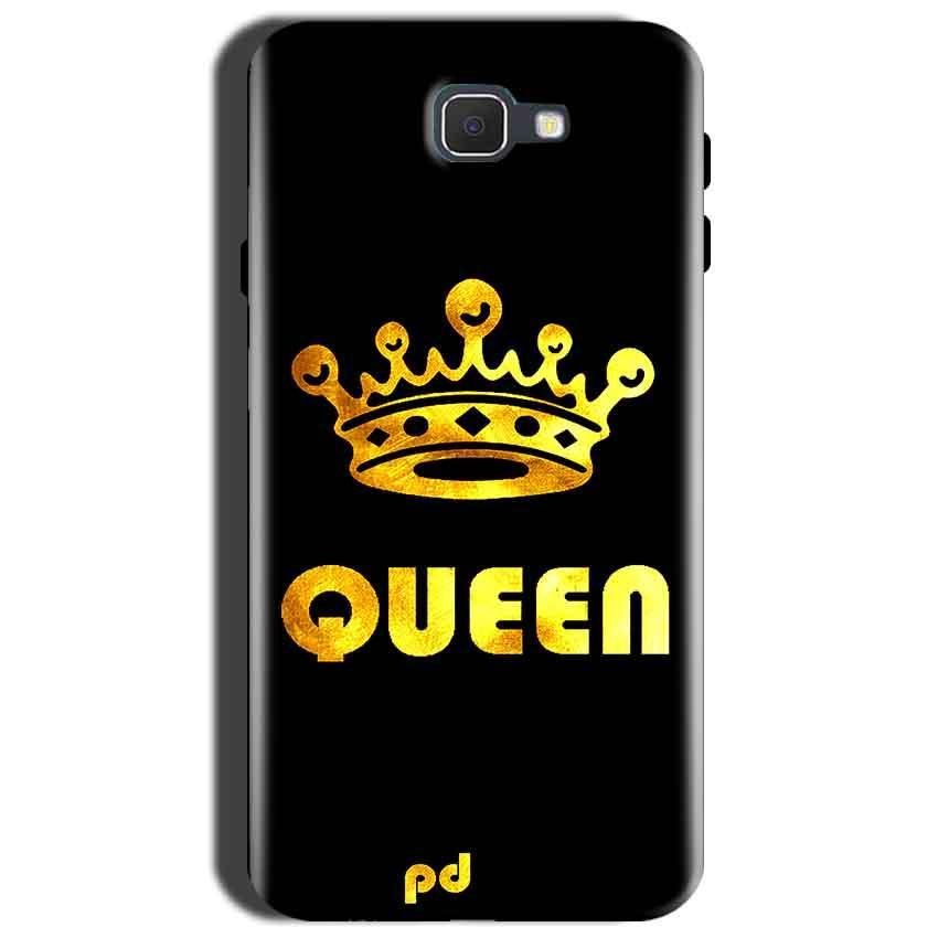 Samsung Galaxy J7 Prime 2 Mobile Covers Cases Queen With Crown in gold - Lowest Price - Paybydaddy.com