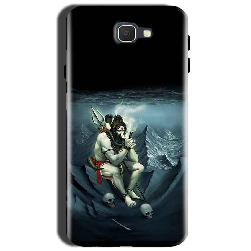 Samsung Galaxy J7 Prime 2 Mobile Covers Cases Shiva Smoking - Lowest Price - Paybydaddy.com