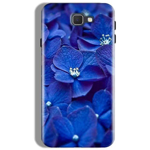 Samsung Galaxy J7 Prime Mobile Covers Cases Blue flower - Lowest Price - Paybydaddy.com