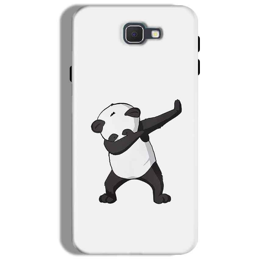 Samsung Galaxy J7 Prime Mobile Covers Cases Panda Dab - Lowest Price - Paybydaddy.com