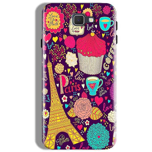 Samsung Galaxy J7 Prime Mobile Covers Cases Paris Sweet love - Lowest Price - Paybydaddy.com