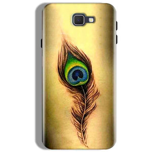 Samsung Galaxy J7 Prime Mobile Covers Cases Peacock coloured art - Lowest Price - Paybydaddy.com