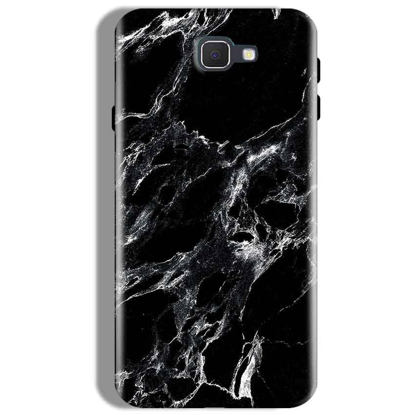 Samsung Galaxy J7 Prime Mobile Covers Cases Pure Black Marble Texture - Lowest Price - Paybydaddy.com