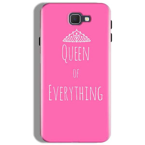 Samsung Galaxy J7 Prime Mobile Covers Cases Queen Of Everything Pink White - Lowest Price - Paybydaddy.com