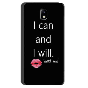 Samsung Galaxy J7 Pro Mobile Covers Cases i can and i will Lips - Lowest Price - Paybydaddy.com