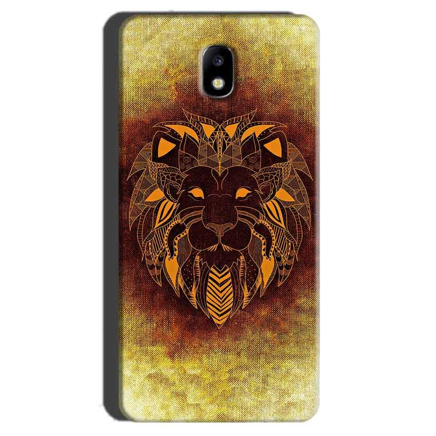 Samsung Galaxy J7 Pro Mobile Covers Cases Lion face art - Lowest Price - Paybydaddy.com
