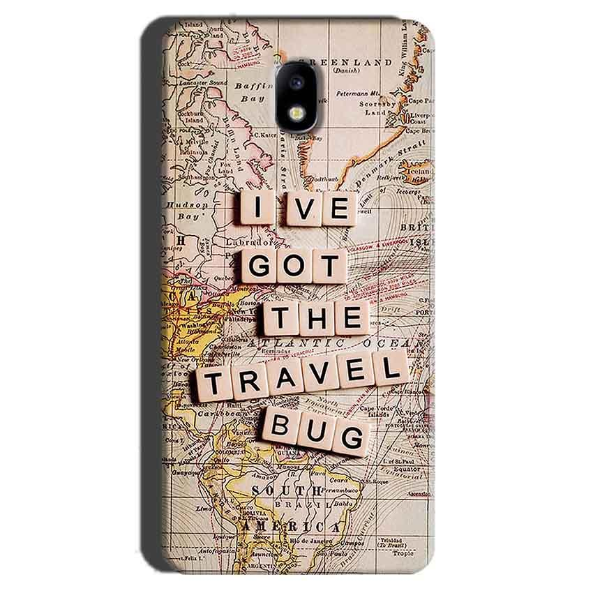 Samsung Galaxy J7 Pro Mobile Covers Cases Live Travel Bug - Lowest Price - Paybydaddy.com