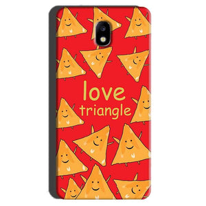Samsung Galaxy J7 Pro Mobile Covers Cases Love Triangle - Lowest Price - Paybydaddy.com