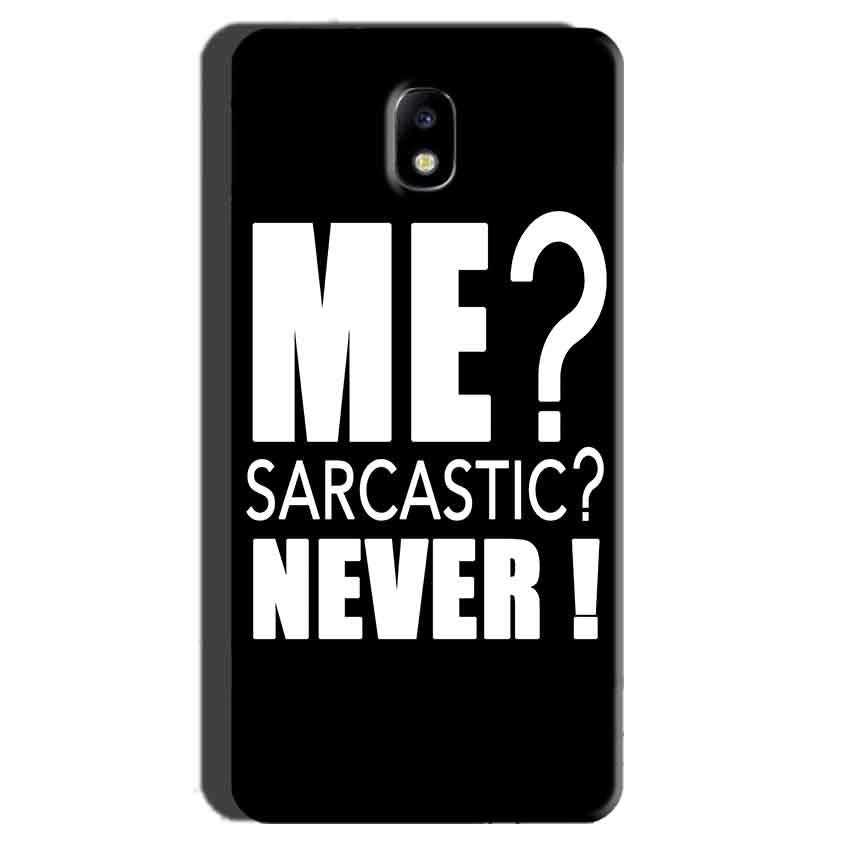 Samsung Galaxy J7 Pro Mobile Covers Cases Me sarcastic - Lowest Price - Paybydaddy.com