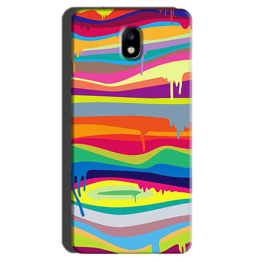 Samsung Galaxy J7 Pro Mobile Covers Cases Melted colours - Lowest Price - Paybydaddy.com