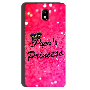 Samsung Galaxy J7 Pro Mobile Covers Cases PAPA PRINCESS - Lowest Price - Paybydaddy.com