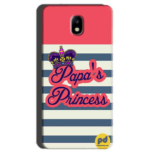Samsung Galaxy J7 Pro Mobile Covers Cases Papas Princess - Lowest Price - Paybydaddy.com