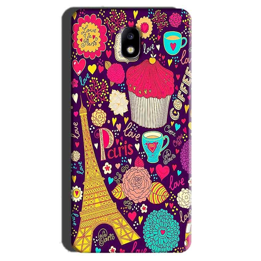 Samsung Galaxy J7 Pro Mobile Covers Cases Paris Sweet love - Lowest Price - Paybydaddy.com