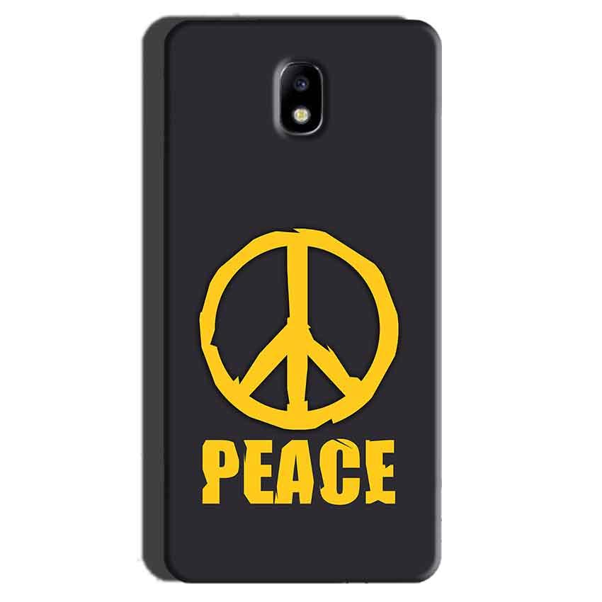 Samsung Galaxy J7 Pro Mobile Covers Cases Peace Blue Yellow - Lowest Price - Paybydaddy.com