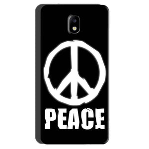 Samsung Galaxy J7 Pro Mobile Covers Cases Peace Sign In White - Lowest Price - Paybydaddy.com