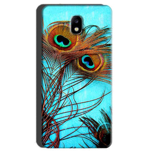 Samsung Galaxy J7 Pro Mobile Covers Cases Peacock blue wings - Lowest Price - Paybydaddy.com