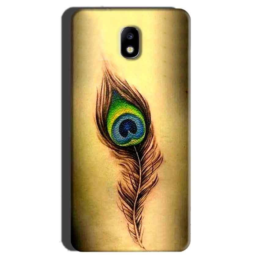 Samsung Galaxy J7 Pro Mobile Covers Cases Peacock coloured art - Lowest Price - Paybydaddy.com