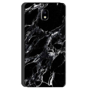 Samsung Galaxy J7 Pro Mobile Covers Cases Pure Black Marble Texture - Lowest Price - Paybydaddy.com