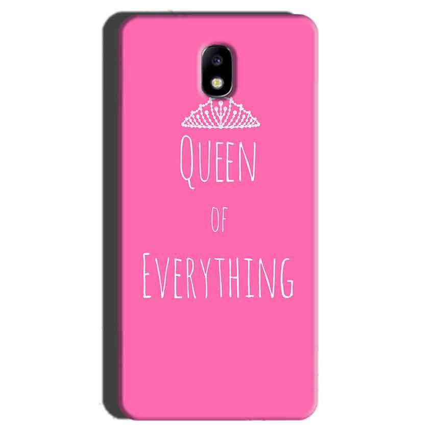 Samsung Galaxy J7 Pro Mobile Covers Cases Queen Of Everything Pink White - Lowest Price - Paybydaddy.com