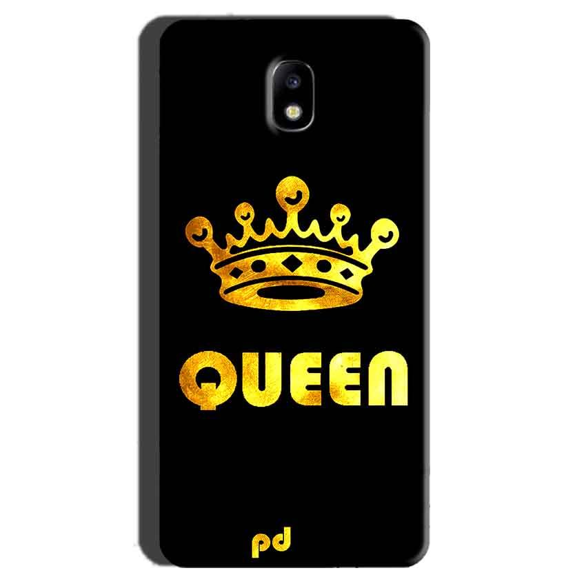 Samsung Galaxy J7 Pro Mobile Covers Cases Queen With Crown in gold - Lowest Price - Paybydaddy.com
