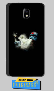 Samsung Galaxy J7 Pro Mobile Covers Cases Shiva Aghori Smoking - Lowest Price - Paybydaddy.com