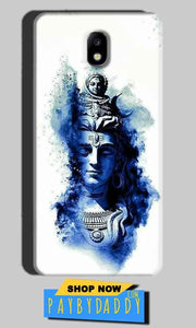 Samsung Galaxy J7 Pro Mobile Covers Cases Shiva Blue White - Lowest Price - Paybydaddy.com