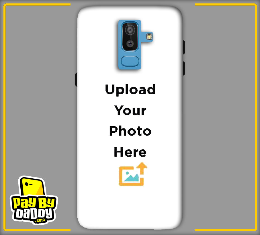 Customized Samsung Galaxy J8 Mobile Phone Covers & Back Covers with your Text & Photo