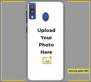 Customized Samsung Galaxy M20 Back Mobile Phone Covers & Back Covers with your Text & PhotoPhoto Cover,Custom Cover,Picture With Cover