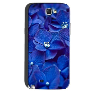 Samsung Galaxy Note 2 Mobile Covers Cases Blue flower - Lowest Price - Paybydaddy.com