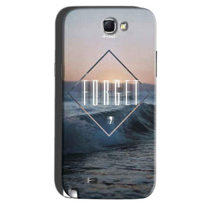Samsung Galaxy Note 2 Mobile Covers Cases Forget Quote Something Different - Lowest Price - Paybydaddy.com