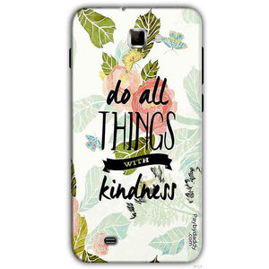 Samsung Galaxy Note 2 N7000 Mobile Covers Cases Do all things with kindness - Lowest Price - Paybydaddy.com