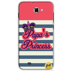 Samsung Galaxy Note 2 N7000 Mobile Covers Cases Papas Princess - Lowest Price - Paybydaddy.com