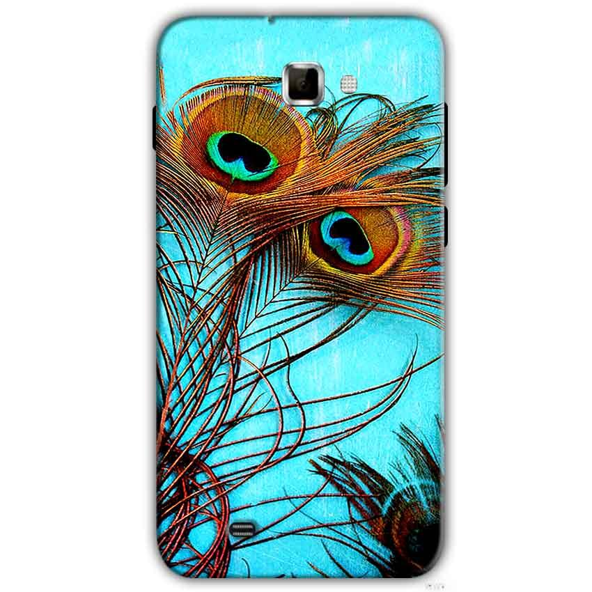 Samsung Galaxy Note 2 N7000 Mobile Covers Cases Peacock blue wings - Lowest Price - Paybydaddy.com