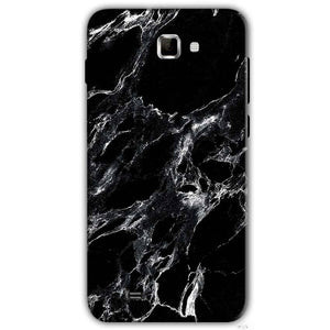 Samsung Galaxy Note 2 N7000 Mobile Covers Cases Pure Black Marble Texture - Lowest Price - Paybydaddy.com